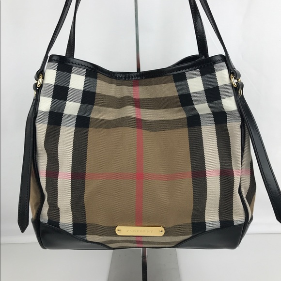 0dae6de77de Burberry Handbags - Burberry Bridle House Check Canterbury Tote